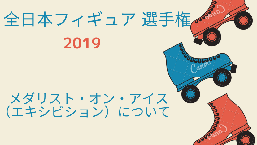 全日本フィギュアメダリストオンアイス(エキシビション)の滑走順/順番と時間は?再放送予定も
