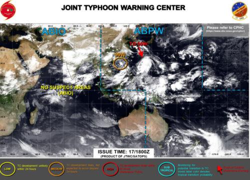 台風7号2021たまご米軍最新情報
