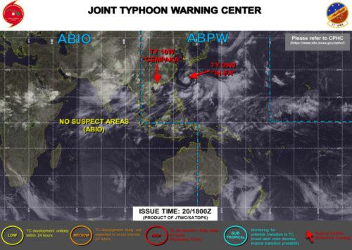 台風8号2021たまご米軍最新情報