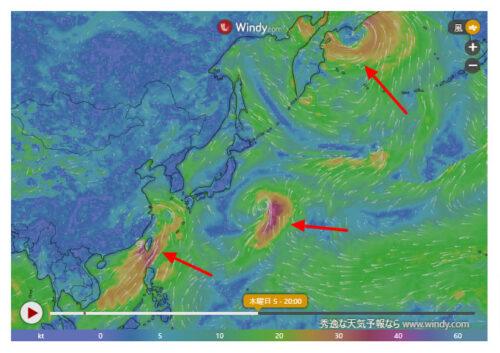 台風10号2021たまごWindy最新情報