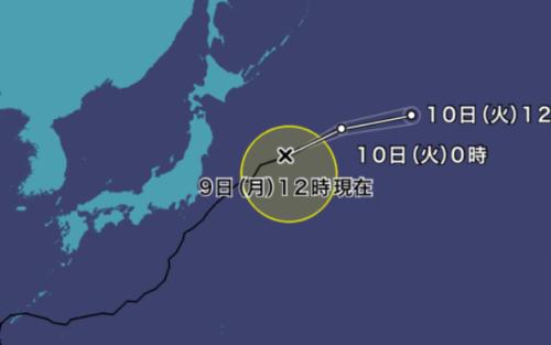 台風10号2021ウェザーニュース最新情報