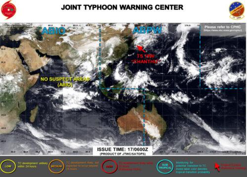 台風14号2021米軍最新
