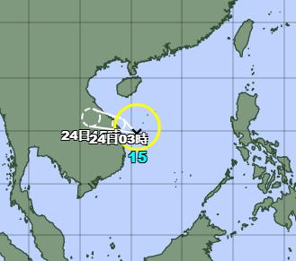 台風15号2021たまご気象庁最新