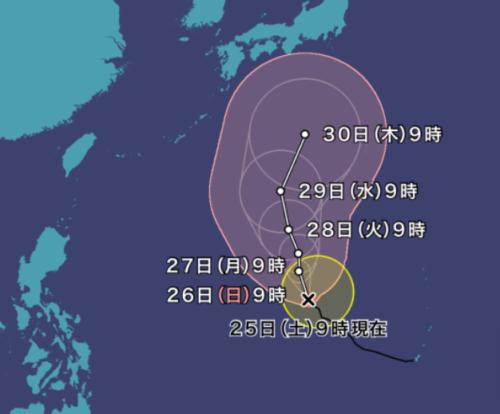 台風16号2021ウェザーニュース最新